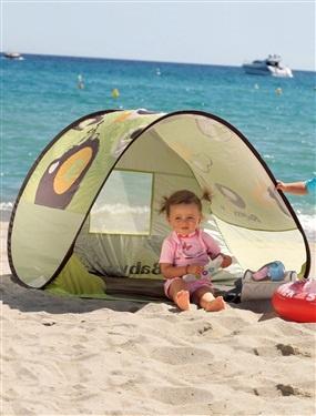 Tente de plage anti-UV BABYMOOV chez vertbaudet