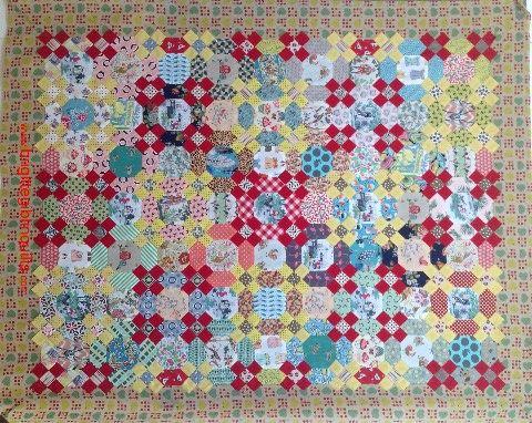 1186 best Paper Piece Addiction images on Pinterest | Flower ... : hexagon quilt kit - Adamdwight.com