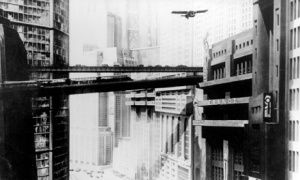 A futuristic city scene from Fritz Lang's 1927 film, Metropolis. We like to imagine we live in the presiding age of big, ambitious special effects movies, but Fritz Lang's colossally ambitious 1927 epic makes James Cameron look timid. It was the most expensive movie ever made at the time – a massive gamble whose failure practically bankrupted German cinema. But practically every futuristic/dystopian/cyborg movie made since is indebted to it. You can detect its DNA in everything from Blade…