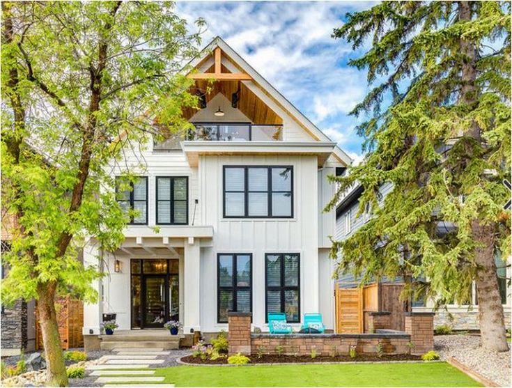 30+ Best Modern Farmhouse Exterior Interior Ideas - Home Sweety Home