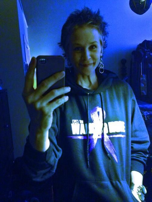 Melissa McBride - I have this shirt also!  The Walking Hope Relay for Life