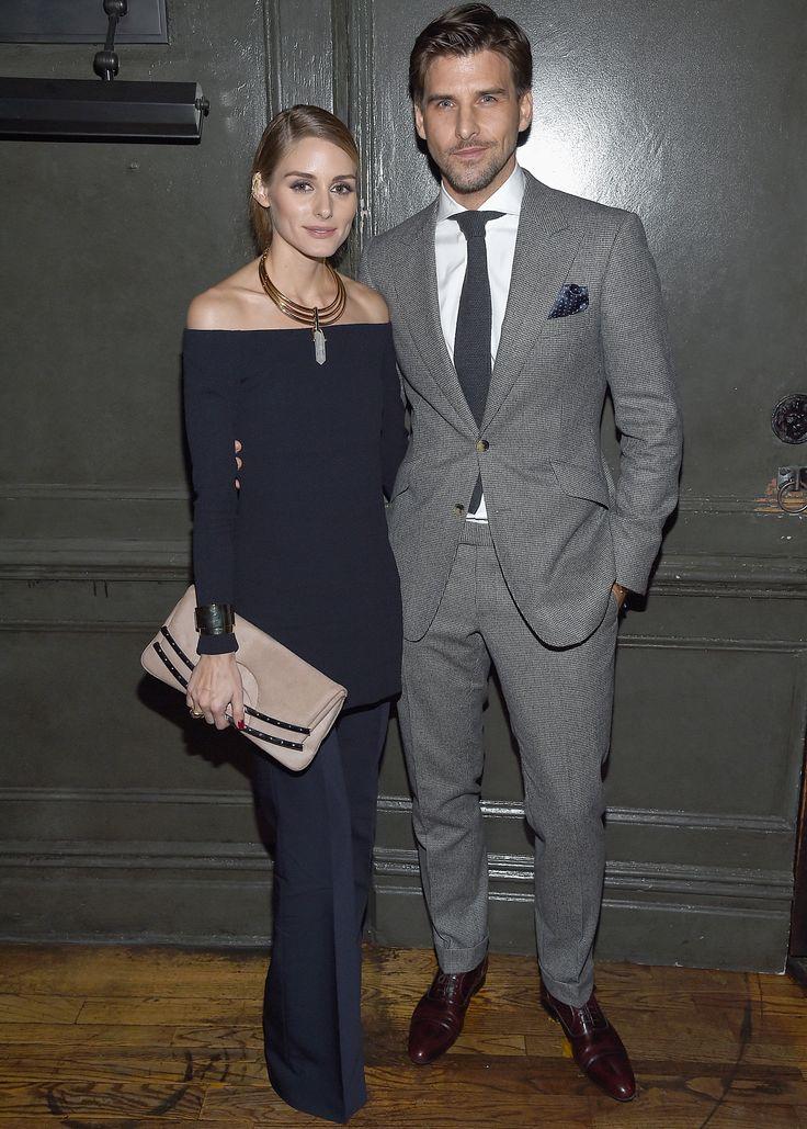 Olivia Palermo and Johannes Huebl are one fashionable duo - November 5, 2015