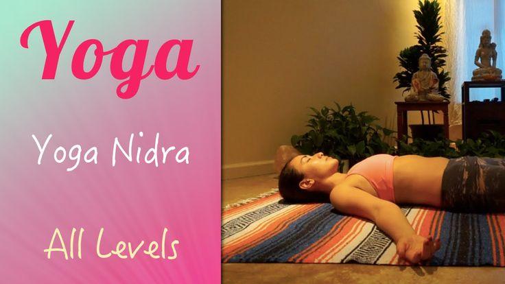 Yoga Nidra   Relaxamento Profundo - Yoga no canal da Pri