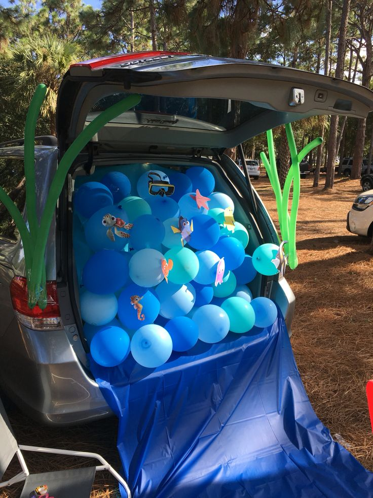 here are 10 fun ways to decorate your trunk for your churchs upcoming trunk or - Car Decorations For Halloween