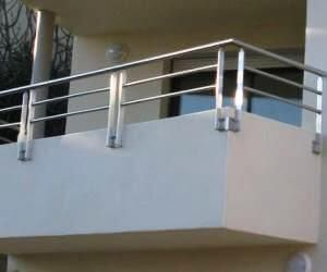 Balustrade din inox balcon Ramnicu Sarat