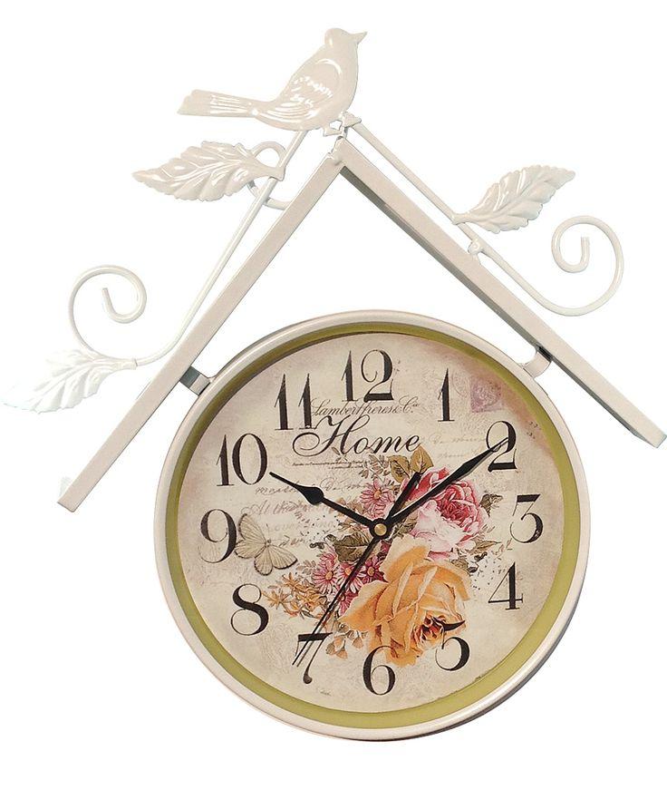 Ev ve Kuşlu Ferforje Duvar Saati Modeli  Ürün Bilgisi ;  Ürün maddesi : Metal Uzunluk : 42 cm Genişlik : 34 cm Sessiz akan saniye Otantik tasarım Dekoratif ve şık görünüm