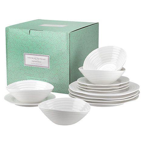 Buy Sophie Conran for Portmeirion Tableware Set, 12 Piece Online at johnlewis.com