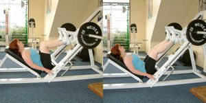 Weight training for beginners.