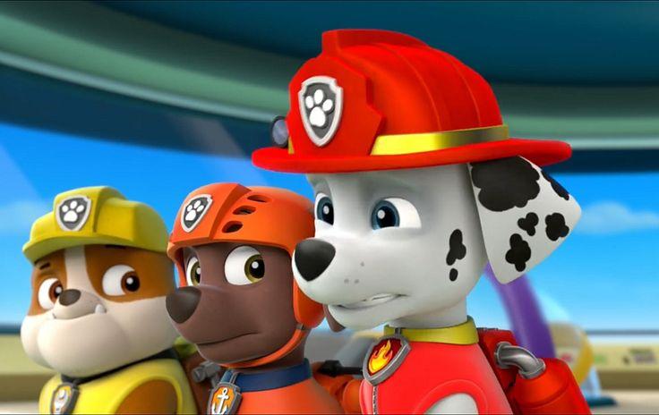 Paw patrol, psi patrol pieski puzzle, gry, jigsaws, games