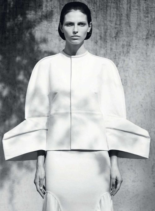 Rick Owens s/s 2012  Karlina Caune by Mark Segal