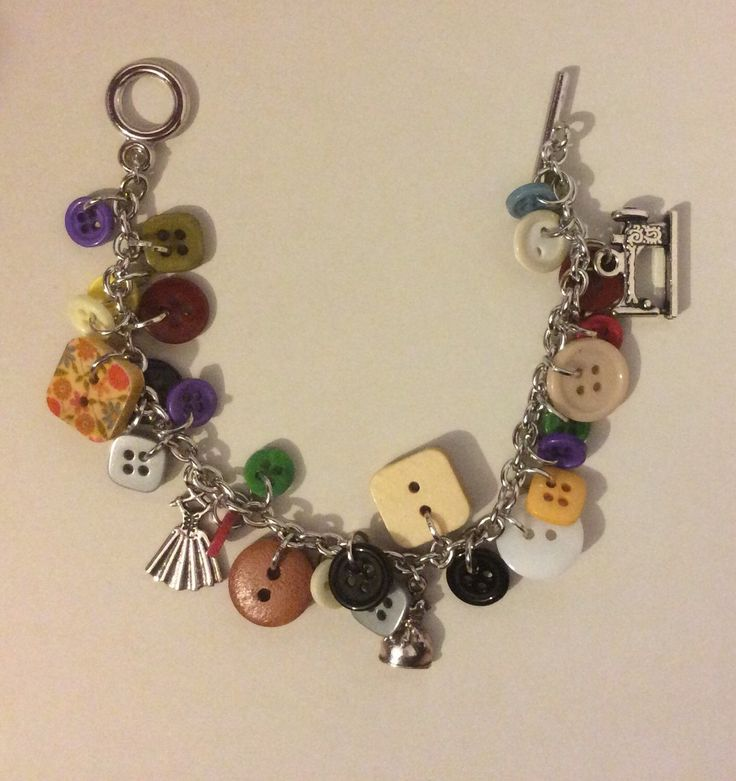 A personal favourite from my Etsy shop https://www.etsy.com/uk/listing/262227854/buttoncharm-bracelet