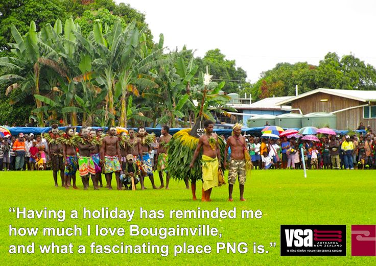 Liv's taken a break from her assignment in Bougainville to see some of the sights of PNG.