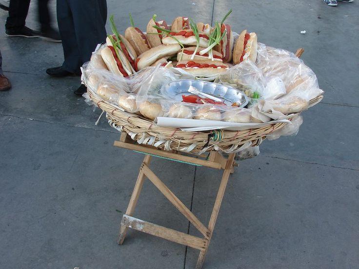 Y hoy almorzamos sánduche callejero! #DionisioPimiento #Food #Foodie