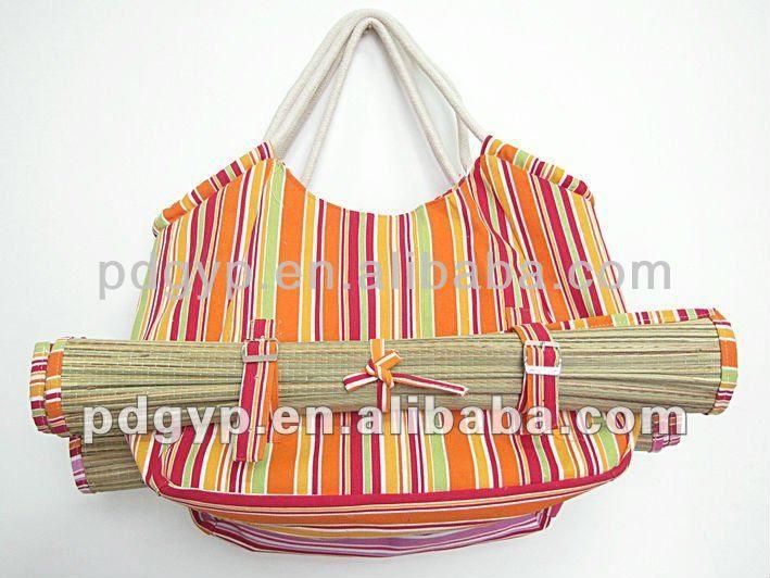Bolsa De Praia Feita De Tecido : Ideias sobre bolsa de lona no sacos