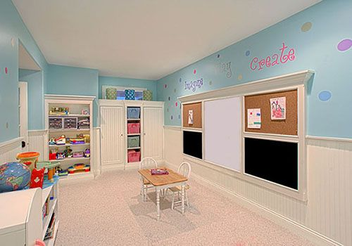 Kids playroom!