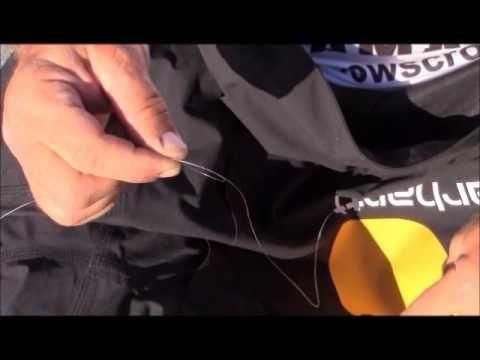 Terry Scroggins: Tying Braid to Fluorocarbon
