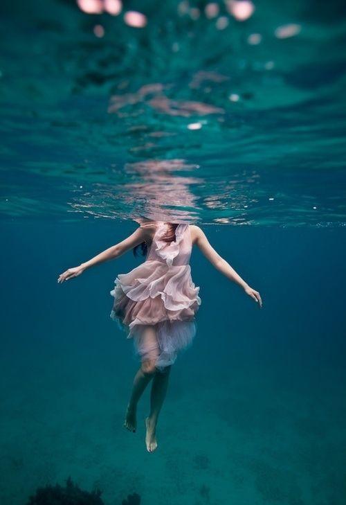 Girl In Water Tumblr