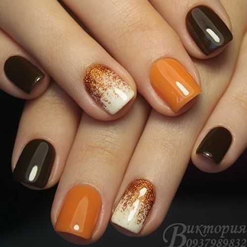 Best Fall Nails for 2018 - 45 Trending Fall Nail Designs - FAVHQ.com - Best Fall Nails For 2018 - 45 Trending Fall Nail Designs - FAVHQ.com