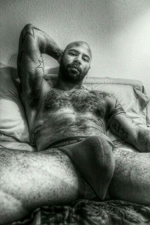 Nude hairy black males