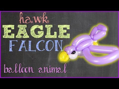 Hawk Balloon Animal Tutorial! Learn Balloon Animals with the Twister Sister! - YouTube