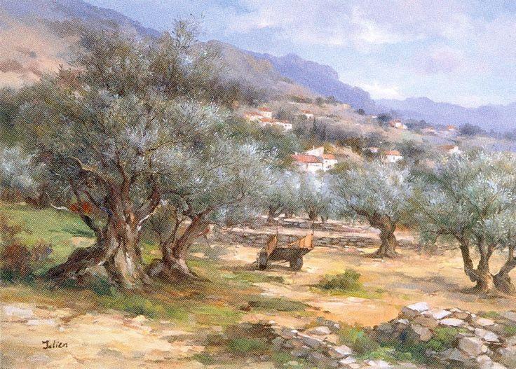 Tableaux Des Paysages De Provence Paysage De Provence Peinture