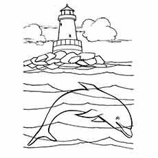 ocean beach coloring pages - photo#41