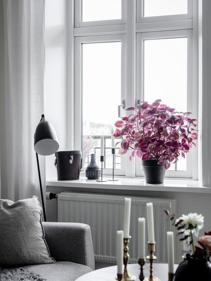 Fenster Dekoration In 2020 Deko Wohnzimmer Modern Moderne Raumausstattung Haus Deko
