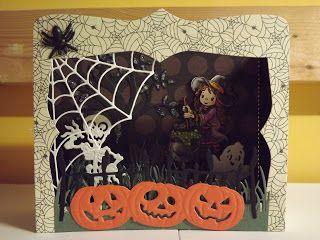 Crea Jackie: Halloween: Spooky tafereel