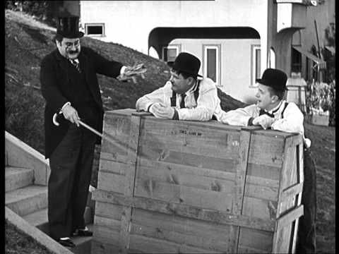 Laurel & Hardy - The Music box (1932) DVD rip