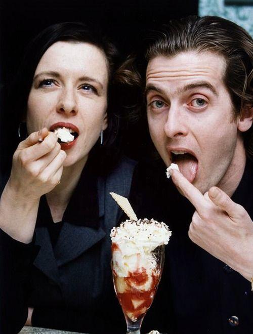 Elaine Collins and Peter Capaldi ?