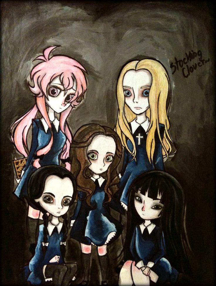 Creepy little girls by StockingClover