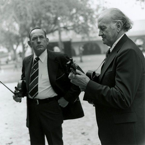 Bill Monroe & Kenny Baker - Two legends of American folk music