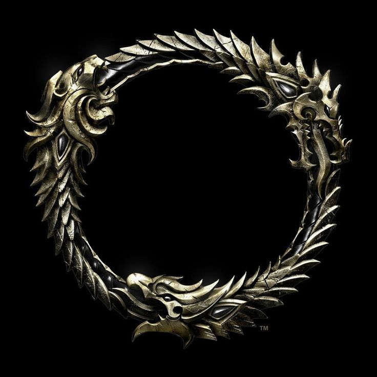 Concept art of The Elder Scrolls Online's logo. Also relevant to @Dana Luker 's interests.