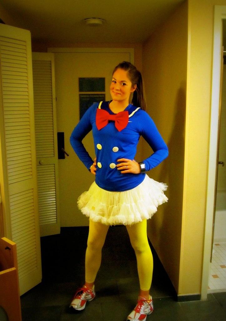 Diy Donald Duck costume. (: