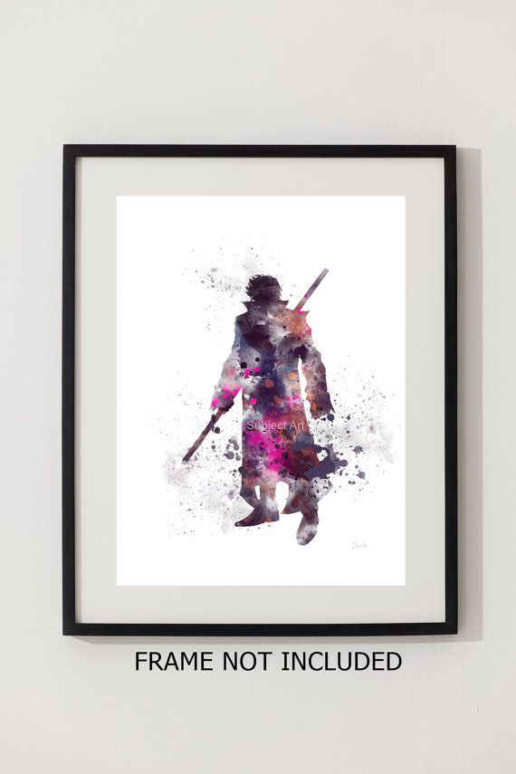 Gambit X-Men ART PRINT illustration Superhero Home Decor