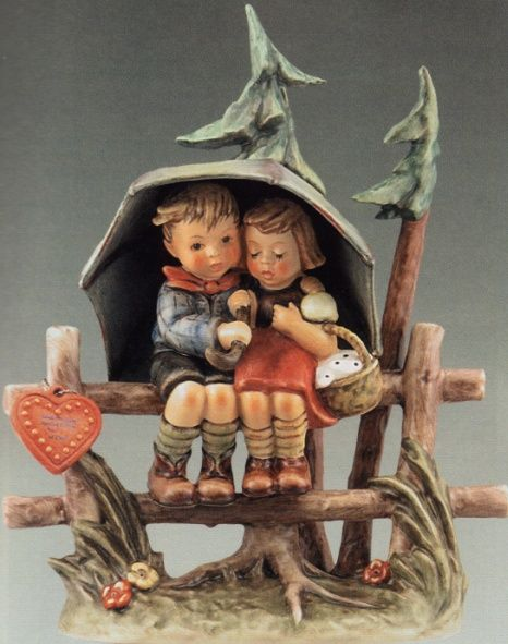 hummel figurines value list | Hummel Figurines - M. I. Hummel April Showers