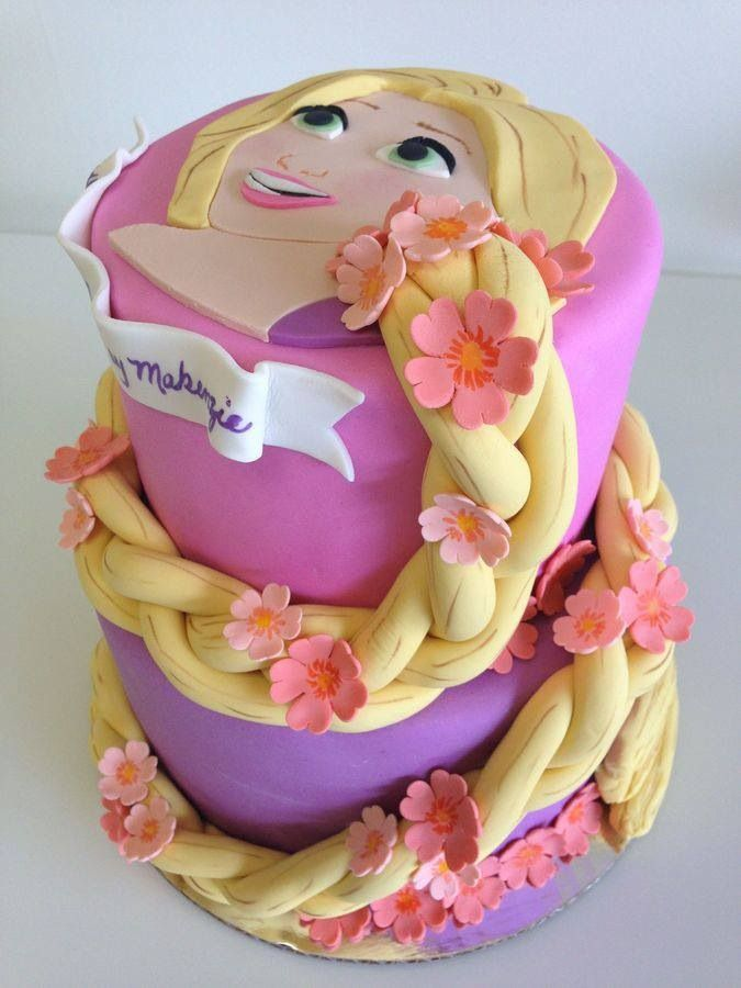 Perfect for Raleigh and Gracie's B-days Rapunzel