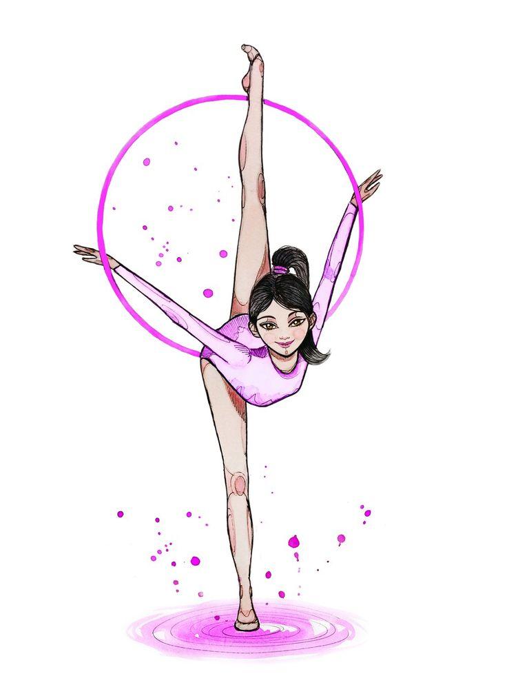 картинки рисунки гимнастки зависимости