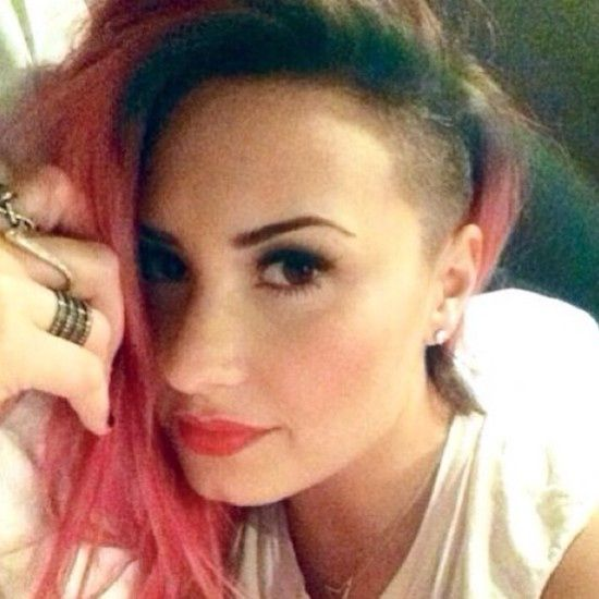 Photo: Demi Lovato Debuts a Half-Shaved Head | Bustle