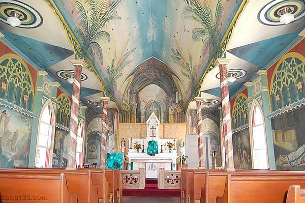 St Benedict Catholic Church Big Island Hawaii