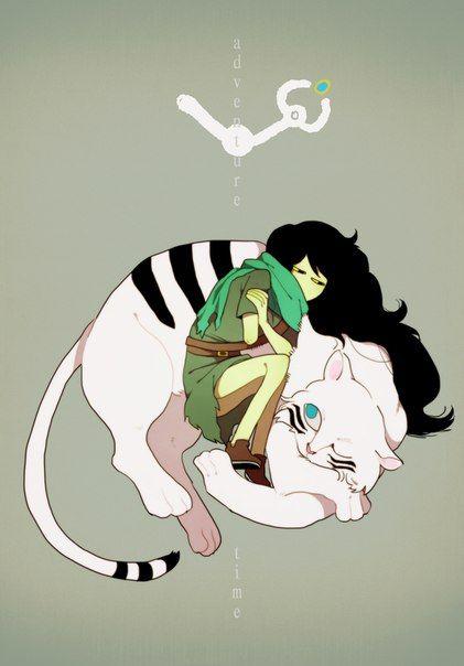 Shoko, Finn the Human's past life. Adventure Time, season 5