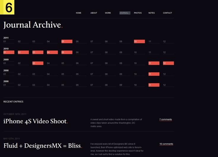 Archive layout: Design Inspiration, Ui Design, Web Design, Design Trends