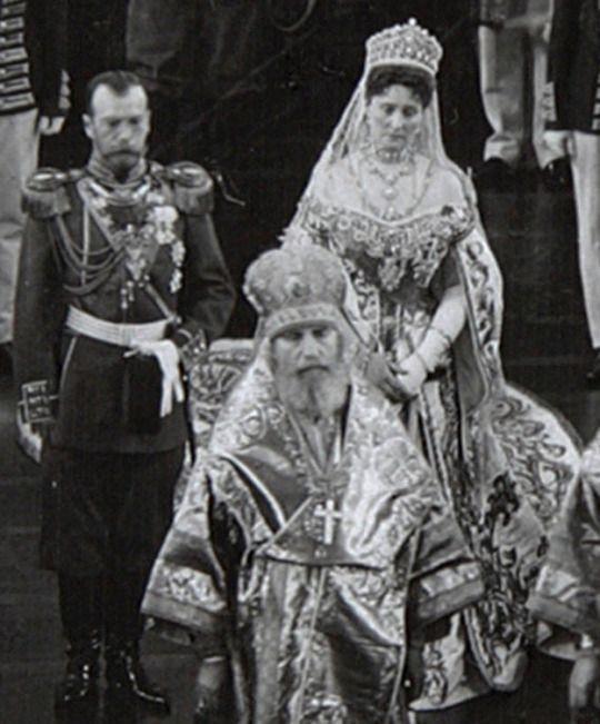 Nicholas & Alexandra at the opening of the Imperial State Duma 1906