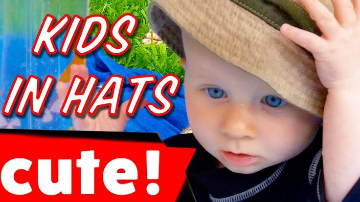 The Cutest Kids In the Most Stylish Hats | Funny Compilation