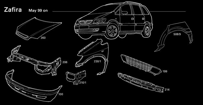 Check out Genuine & Latest Collection of #vauxhall #zafira parts Online available at www.heathfieldvx.com