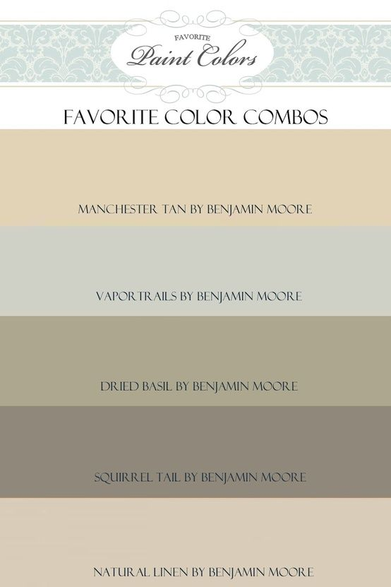 Favorite Paint Colors - Click image to find more Home Decor Pinterest pins