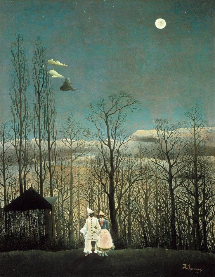 Sera di carnevale, 1886 -Henri Rousseau
