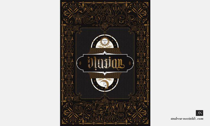Typographic Illusionist Poster Design