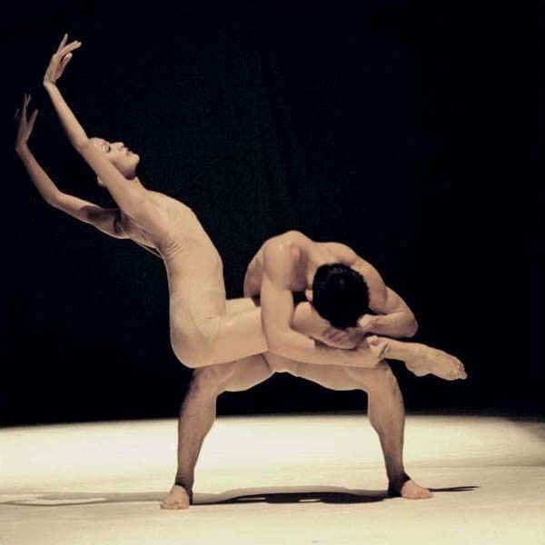 Simply Nude ballet dancers on stage you