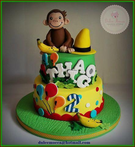 Jorge el curioso cake torta tarta